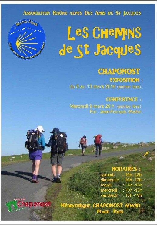 Affiche Saint Jacques